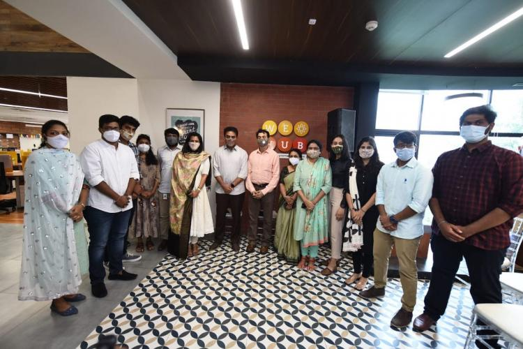 KTR inaugurates 3 new programmes of WE HUB
