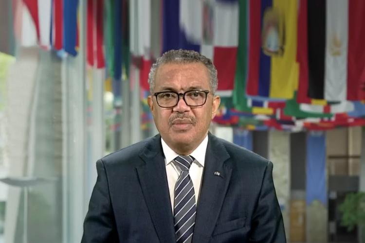 WHO chief Tedros to self-quarantine after contact gets COVID-19