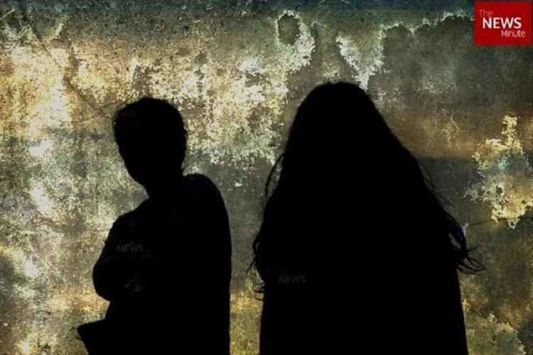 Walayar sisters death case representative image of silhouette of two girls