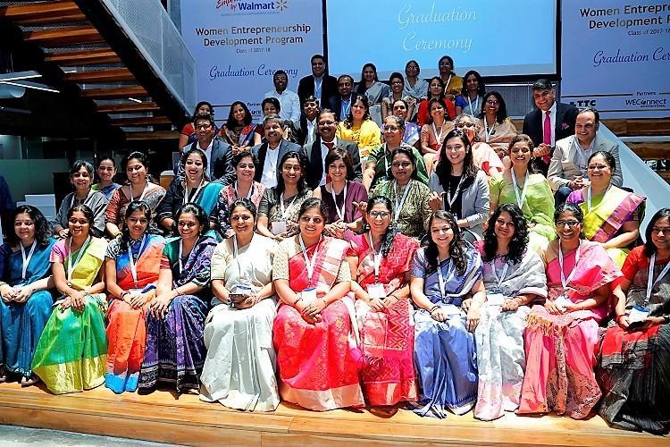 61 women-owned businesses graduate from Walmart Indias program for women entrepreneurs