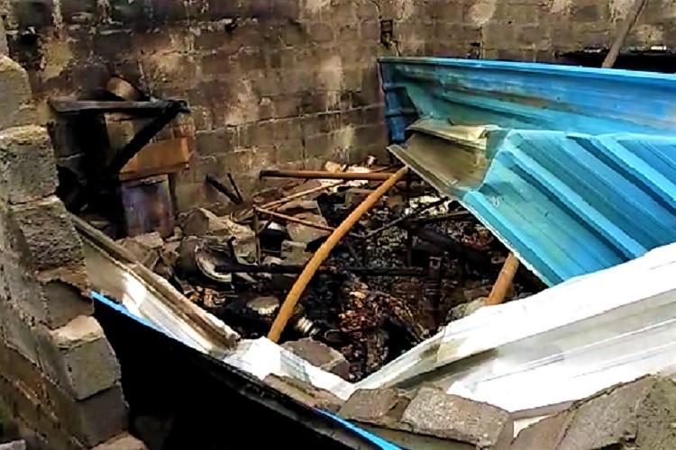 Angry over fathers affair Warangal man sets house on fire 3 killed