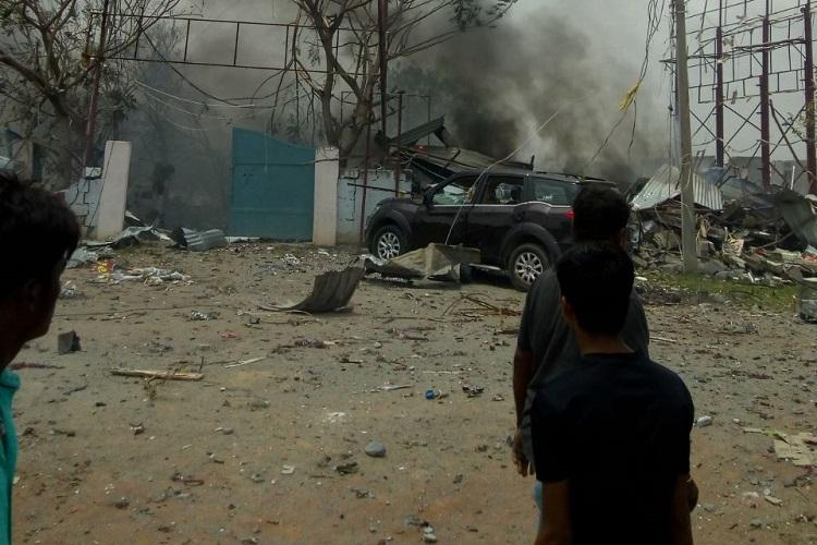 Warangal fireworks blast Why bystanders did more harm than good by clicking photos