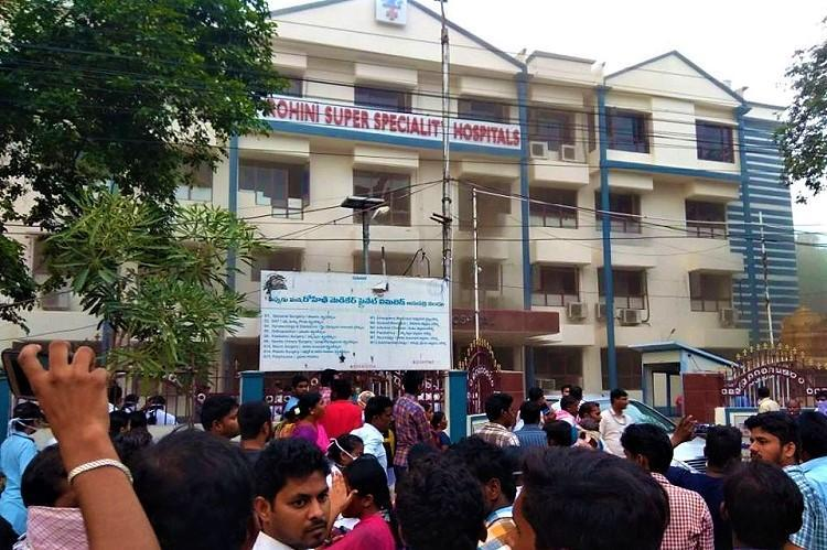 Warangal Hospital Fire Doctors booked for leaving patient to die and running away