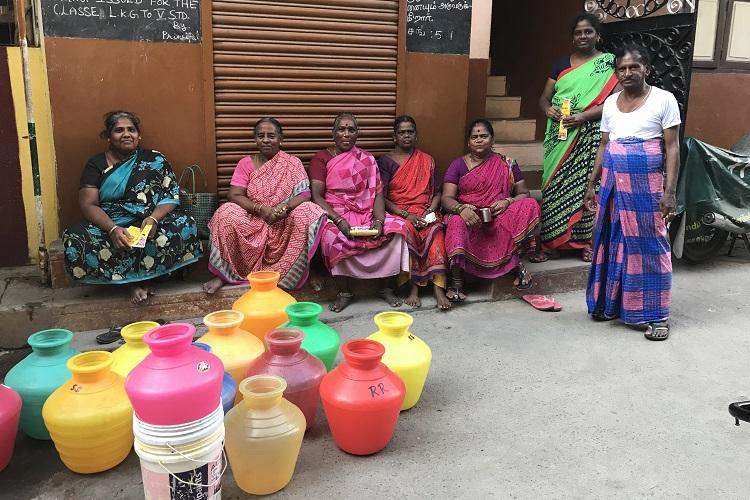 In water-short Chennai Central absence of Karunanidhi Jayalalithaa loom large