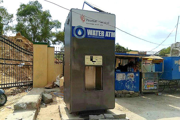 Hyderabads water ATMs are real life savers with a litre for just Re 1