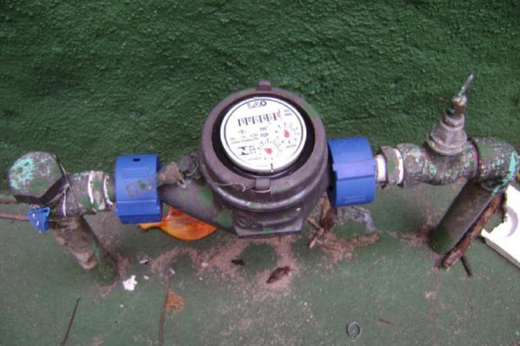 Water meter in a Bengaluru residence
