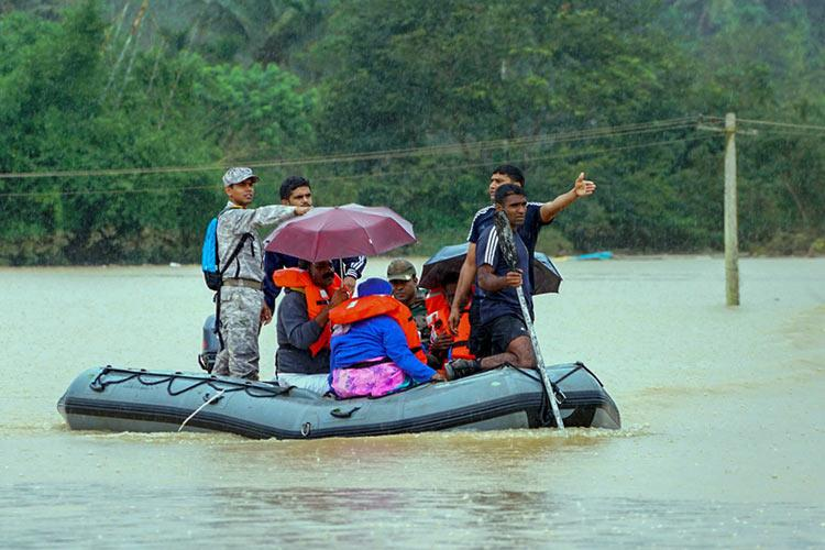 Heavy rains predicted in most districts of Kerala for the next 48 hours