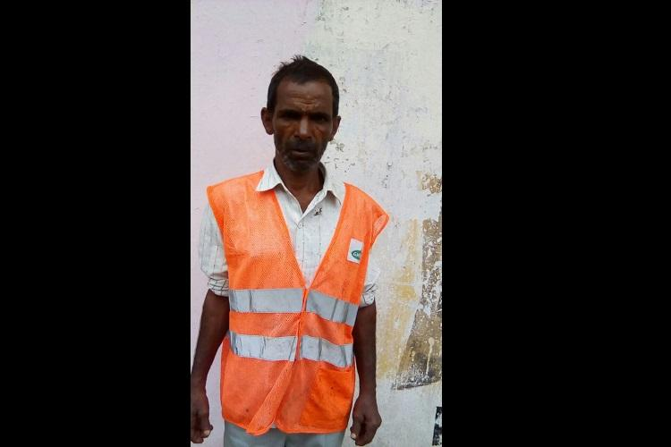 GHMC worker gets selected for award under Swachh Bharath Mission