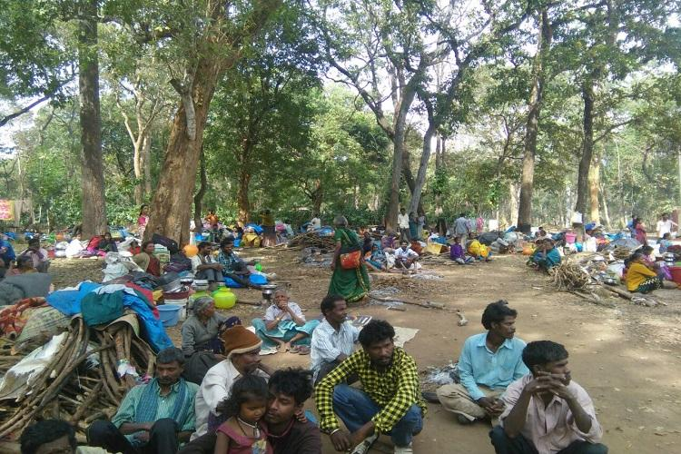 Blatant show of apathy Police Forest dept raze homes of over 3000 Adivasis in Kodagu