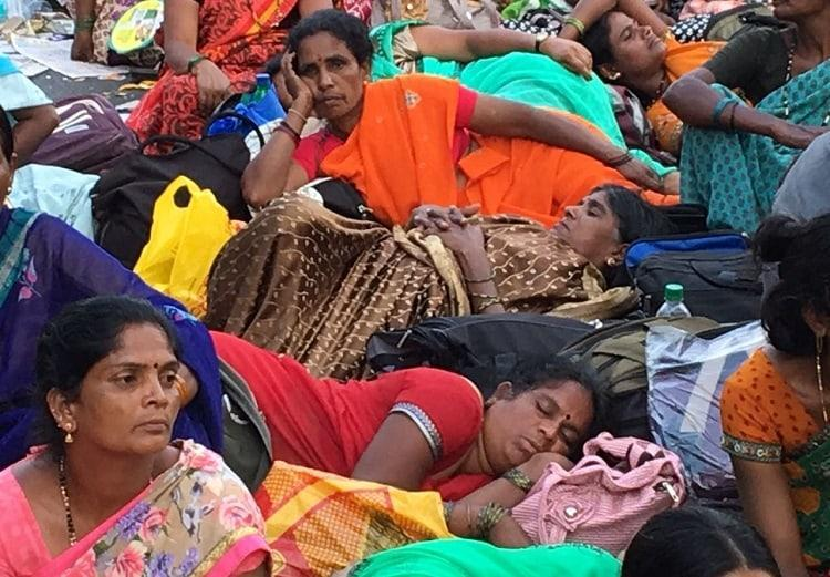 Ktaka government misled anganwadi workers FIR against union leaders