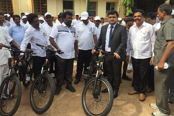 T-Hub startup to provide e-bikes to Ongole for public ride-sharing system