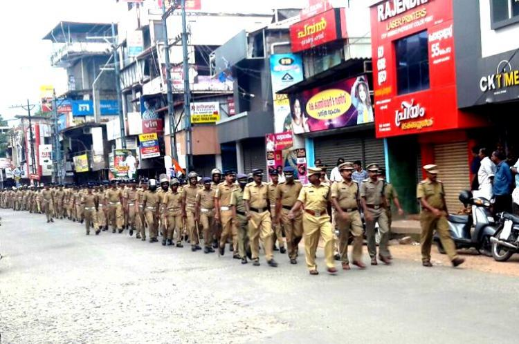 Kannur on high alert as BJP prepares for yatra 22 DSPs and 800 constables deployed