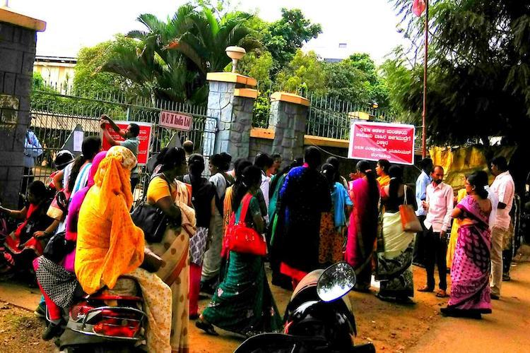 Illegal closure of Bengaluru factory leaves women employees jobless overnight