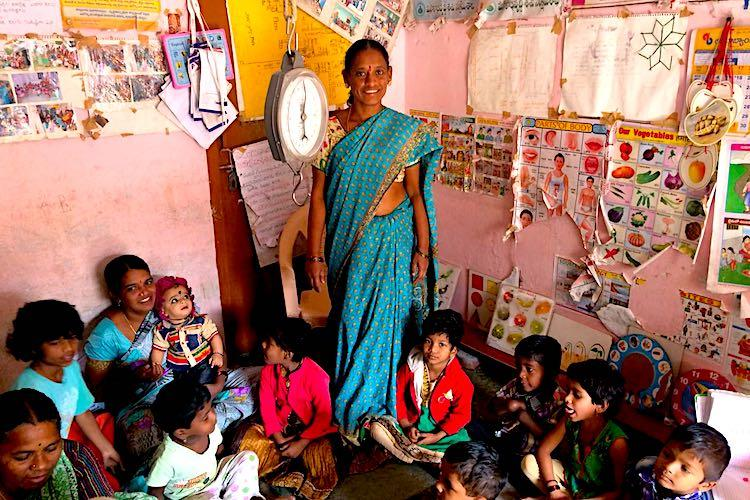 Against all odds How anganwadis take care of Indias children