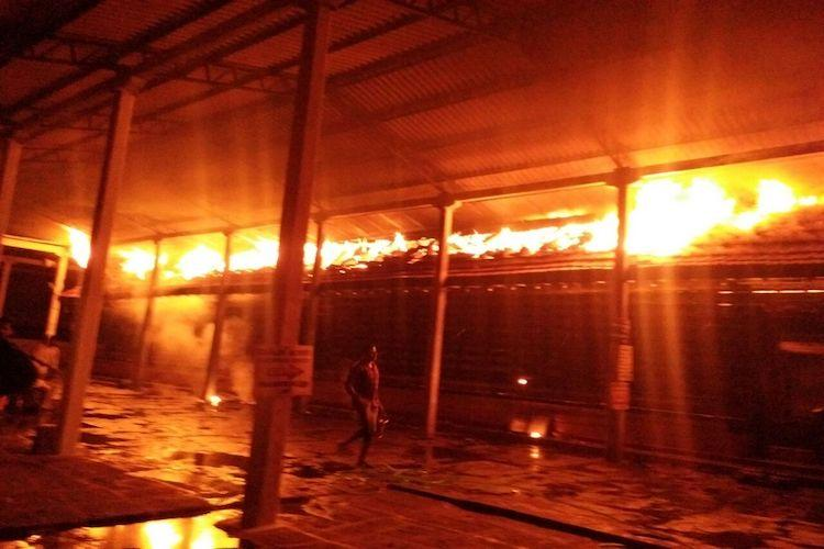 Fire erupts at Thiruvilwamala temple in Kerala no casualties reported