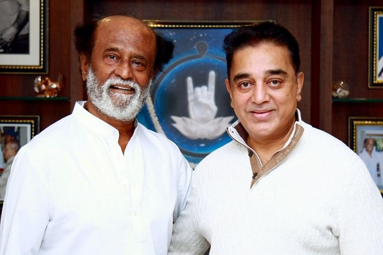 The Rajini-Kamal dynamic: Rivals yet friends in cinema and politics | The  News Minute
