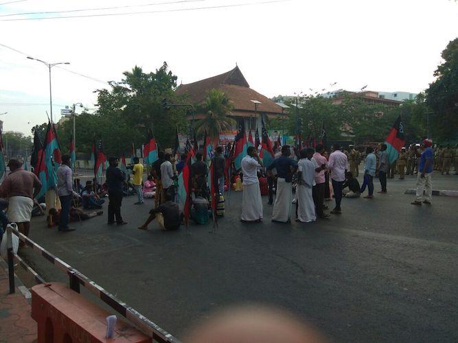 Live updates Dalit organisations hartal in Kerala over dilution of SCST Act