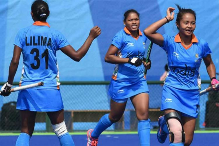 Asian Champions Trophy Indian womens hockey team beat world no 8 China