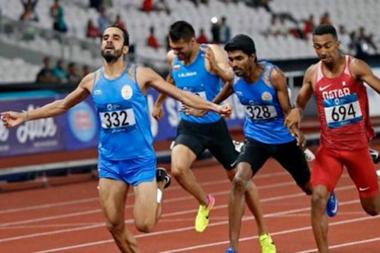 Manjit Singh wins gold Jinson Johnson gets silver for India in Mens 800m at Asiad