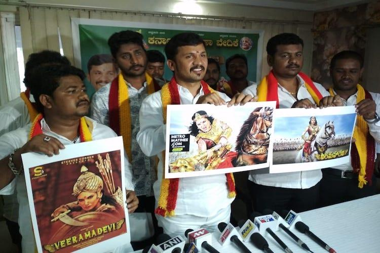 Attack on our culture Pro-Kannada group to protest Sunny Leone movie event again