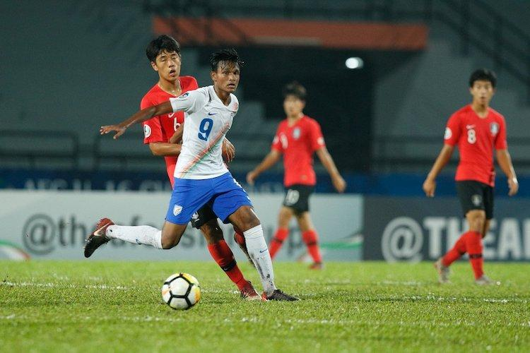 Valiant India go down fighting in quarter-finals of AFC U-16 football meet