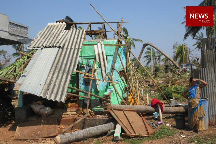 Where do we go After Cyclone Titli people in APs Uddanam worry about their destroyed homes