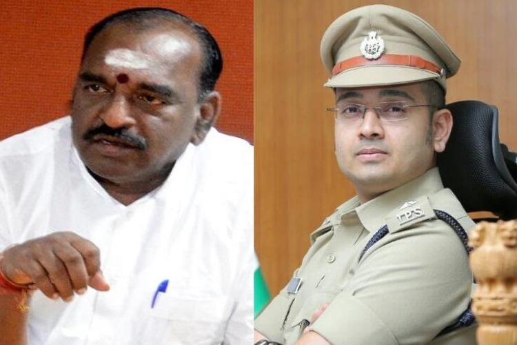 High drama in Sabarimala as minister Pon Radhakrishnan and top cop argue over restrictions