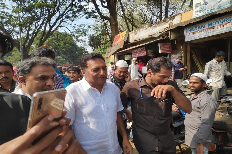 Actor Prakash Raj begins campaign in Bengaluru Central for Lok Sabha elections