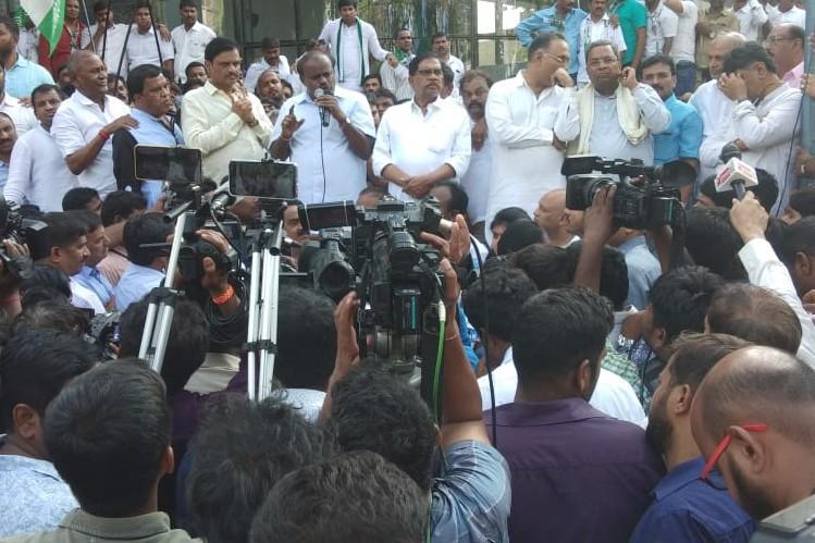 Income Tax Dept DG is corrupt working as a BJP stooge CM HD Kumaraswamy