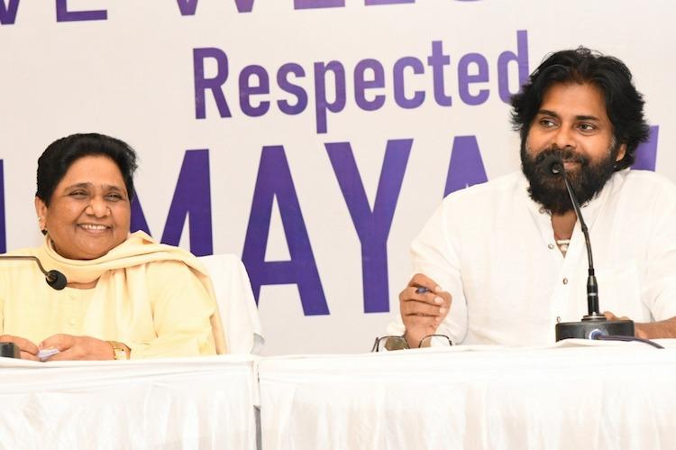 Mayawati campaigns for Pawan Kalyan says alliance will give Andhra special status
