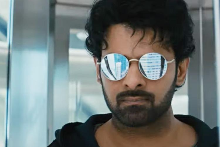 Watch Saaho trailer suggests Prabhas is playing an undercover cop