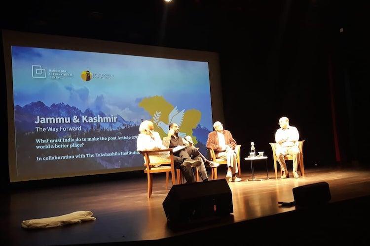 Protest against non-Kashmiri all-male panel discussion on JK in Bengaluru