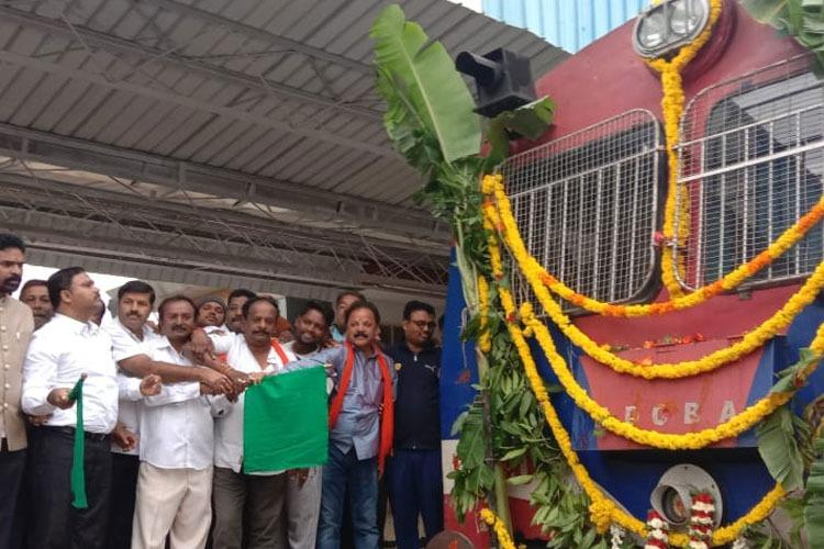 New Kolar-Whitefield train launched will benefit those working in north Bengaluru