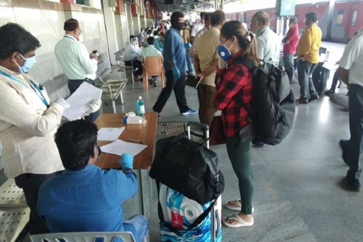 19 Delhi-Bengaluru train passengers to be sent back as they refuse institutional quarantine