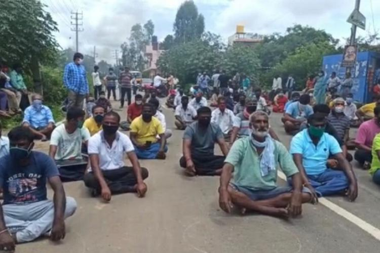 Residents of Bengalurus Electronic City protest as waste plant allegedly releases leachate