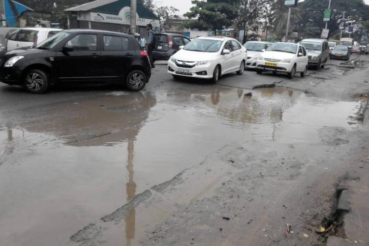 Fed up with government apathy this angry mother from Bengaluru fights for better roads