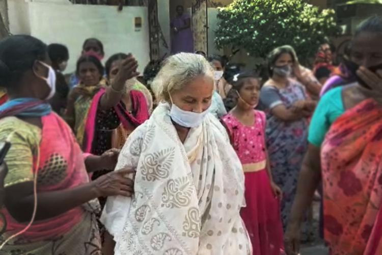 The woman who returned home in Andhra Pradesh