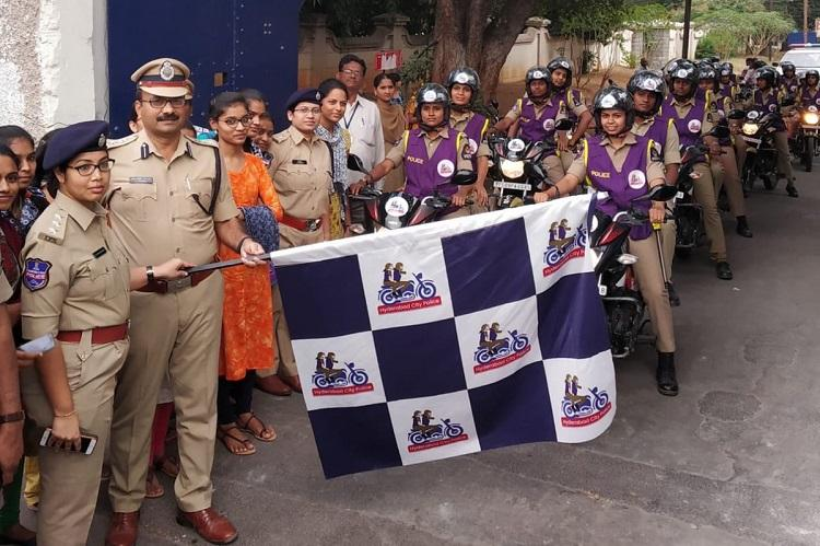 Women on bikes Hyderabad police introduces women patrolling teams in city