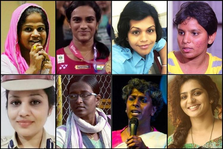 The women of the year South Indias kickass ladies who made 2017 awesome