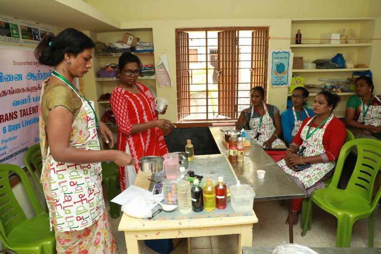Workshop for trans women in perumbakkam