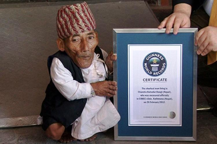 Worlds shortest man Chandra Bahadur Dangi dies at 75