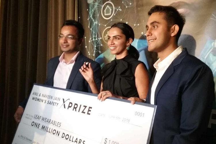 Delhi team wins 1mn XPrize for womens safety device inspired by Nirbhaya