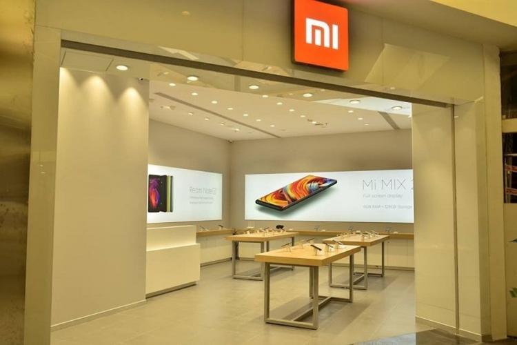 Xiaomi storefront
