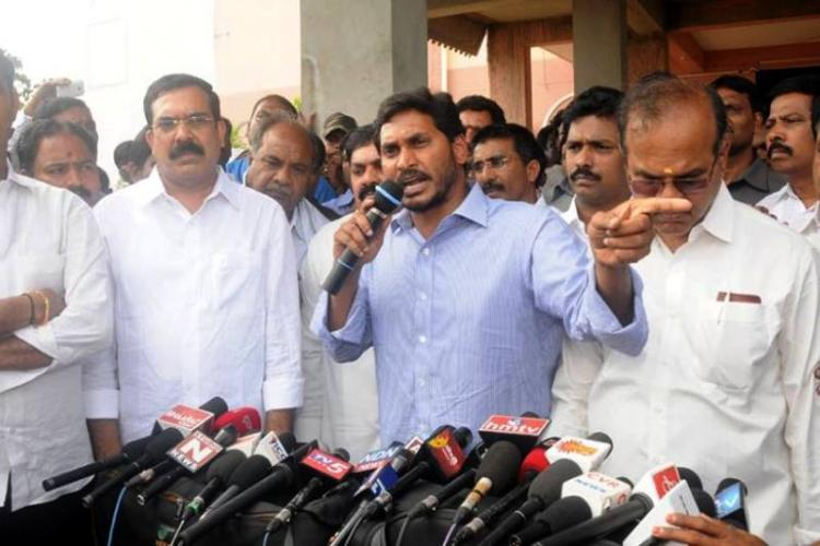 With defections on the rise Jagan meets Governor about TDP luring his MLAs