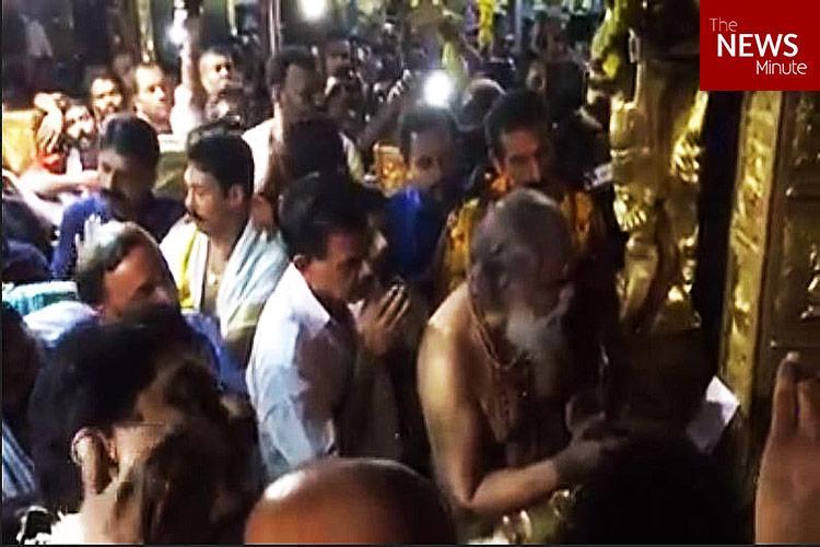 At Ayyappas door in Sabarimala Yesudas sings Harivaraasanam the song he immortalised
