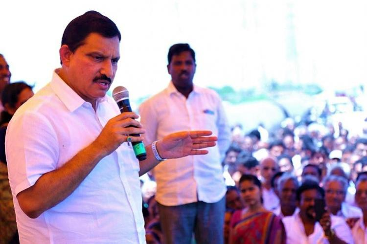 BJP MP YS Chowdary visits Amaravati says Centre will not sit quietly in AP capital row