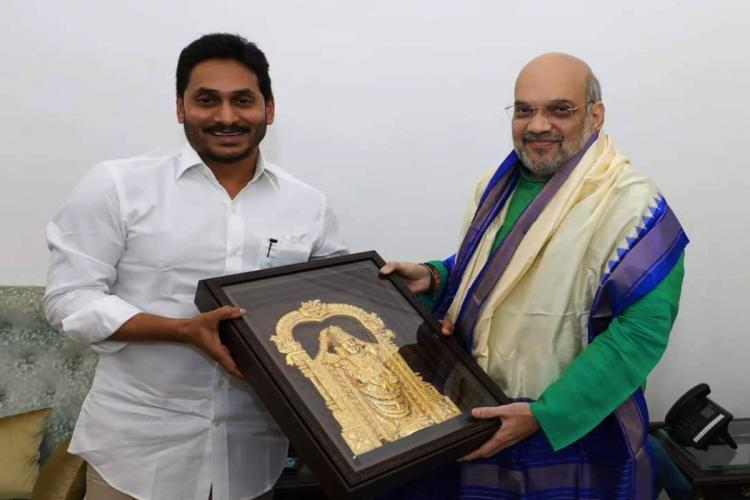 Jagan meets Union Mins over Andhra special status Polavaram project