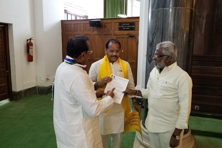 YSRCP to move no-confidence motion on March 16 against BJP gathers support