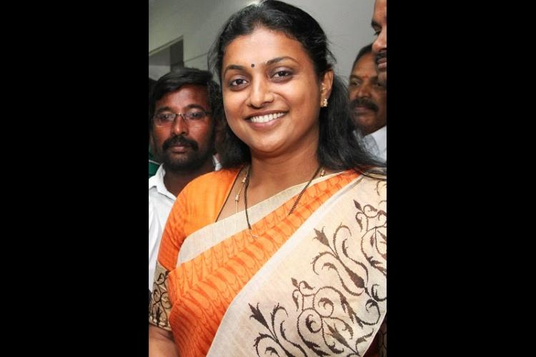 Andhra House panel sends notice to YSRCP MLA Roja to challenge suspension