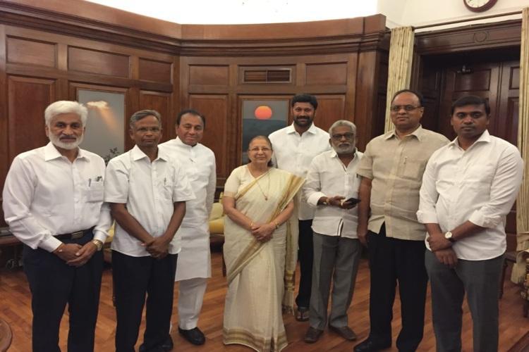 YSRCP MPs meet Lok Sabha Speaker reiterate intention to resign